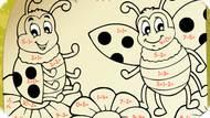 Игра Божьи Коровки — математическая раскраска