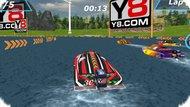 Игра Гонки моторных лодок / Speedboat Racing