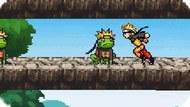 Игра Наруто Собирает лягушек