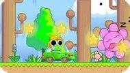 Игра Приключения сумасшедшей лягушки