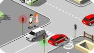 Игра Учим дорожные правила вместе!