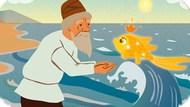 Игра Золотая Рыбка: Старик и Рыбка