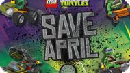 Игра Лего Черепашки-Ниндзя: Спасите Эйприл / Lego Teenage Mutant Ninja Turtles: Save April
