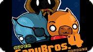 Игра Супер Братья Капи: Прогресс 4 / Super Capy Bros: 4 Advance