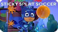 Игра Герои В Масках: Липкий Футбол / Pj Masks Sticky Splat Soccer