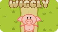 Игра Волнистая Свинья / Wiggly