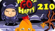 Игра Счастливая Обезьянка: Уровень 210 / Monkey Go Happy Stage 210