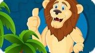 Игра Сильная Мозаика Львов / Strong Lions Jigsaw