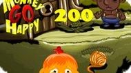 Игра Счастливая Обезьянка: Уровень 200 / Monkey Go Happy Stage 200