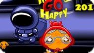 Игра Счастливая Обезьянка: Уровень 201 / Monkey Go Happy Stage 201
