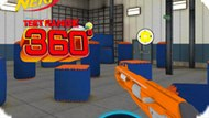 Игра Нерф: Тестовый Прицел 360 Градусов / Nerf Test Range 360