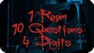 Игра 1 Комната, 10 Вопросов, 4 Цифры / 1 Room, 10 Questions, 4 Digits