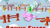 Игра Кролик На Коньках / Bunny Skate