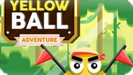 Игра Приключение Желтого Шара / Yellow Ball Adventure