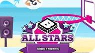 Игра Бумеранг Все Звёзды: Шары И Корзины / Boomerang All Stars Basket Zorb