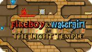 Игра Огонь И Вода: Светлый Храм / Fireboy And Watergirl: The Light Temple