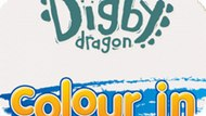 Игра Дигби Дракон: Раскраска / Digby Dragon Colour In