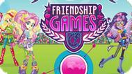 Игра Девочки Из Эквестрии. Игры Дружбы: Стрельба Из Лука / Friendship Games: Archery