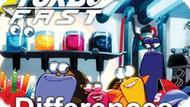 Игра Турбо Молниеносная Команда: Отличия / Turbo Fast Differences