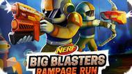 Игра Нерф: Большие Бластеры — Буйный Пробег / Nerf: Big Blasters Rampage Run