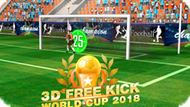 Игра 3D Чемпионат Мира По Штрафным Ударам 2018 / 3D Free Kick World Cup 2018
