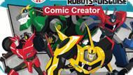 Игра Трансформеры. Роботы Под Прикрытием: Комический Создатель / Transformers Robots In Disguise: Comic Creator
