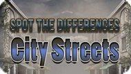 Игра Найти Отличия: Городские Улицы / Spot The Differences City Streets