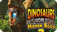 Игра Мир Динозавров: Скрытые Яйца 2 / Dinosaurs World Hidden Eggs 2