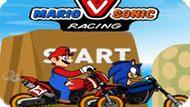Игра Марио Против Соника: Гонки / Mario Vs Sonic Racing