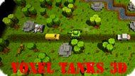 Игра Воксель Танки 3D / Voxel Tanks 3D