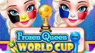 Игра Ледяная Королева: Чемпионат Мира По Украшению Лица / Frozen Queen World Cup Face Art