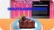 Игра Кулинарный Класс Сары: Шоколадный Торт / Sara's Cooking Class Chocolate Blackberry Cheescake