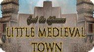 Игра Найдите Отличия: Маленький Средневековый Город / Spot The Differences Little Medieval Town