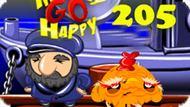 Игра Счастливая Обезьянка: Уровень 205 / Monkey Go Happy Stage 205