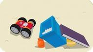 Игра Приключение Чака И Его Друзей: Гонка Со Столкновениями / Tonka Bounceback Racer