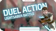 Игра Звездный Войны: Дуэль На Световых Мечах / Star Wars Duel Action Lightsaber