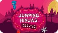 Игра Прыгучий Ниндзя Делюкс / Jumping Ninjas Deluxe