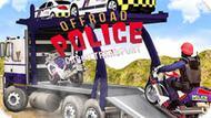 Игра Полицейский Грузовой Транспорт Для Бездорожья / Offroad Police Cargo Transport
