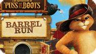 Игра Приключения Кота В Сапогах: Пробег На Бочке / The Adventures Of Puss In Boots: Barrel Run
