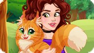 Игра Оливия Приручает Кошку / Olivia Adopts A Cat