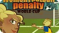 Игра Женский Футбол: Чемпионат Мира По Пенальти / Women Football Penalty Word Cup