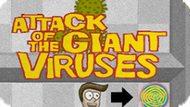 Игра Атака Гигантских Вирусов / Attack Of The Giant Viruses