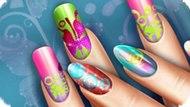 Игра Реальная Жизнь: Цветочный Маникюр / Floral Realife Manicure