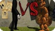 Игра Слендермен Против Фредди Фазбера / Slenderman Vs Freddy The Fazbear