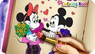 Игра Книжка-Раскраска Минни / Minnie Coloring Book