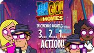 Игра Юные Титаны Ходят В Кино В Августе 3 : 3 2 1 Действие / Teen Titans Go To The Movies In Cinemas August 3 2 1 Action