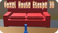 Игра Пиксельный Дом Побег 3D / Voxel House Escape 3D