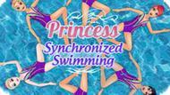 Игра Синхронное Плавание Принцесс / Princess Synchronized Swimming
