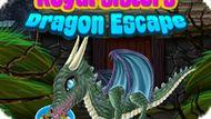 Игра Принцессы: Побег От Дракона / Royal Sisters Dragon Escape