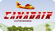 Игра Водный Бомбардировщик Канадэйра / Canadair Water Bomber